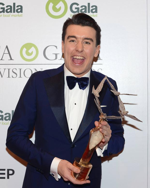 Al Porter at the IFTA Gala Television Awards 2016