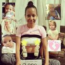 Wendy Cruz-Chan has donated over 60 litres of breast milk to six babies after her son Killian was stillborn.