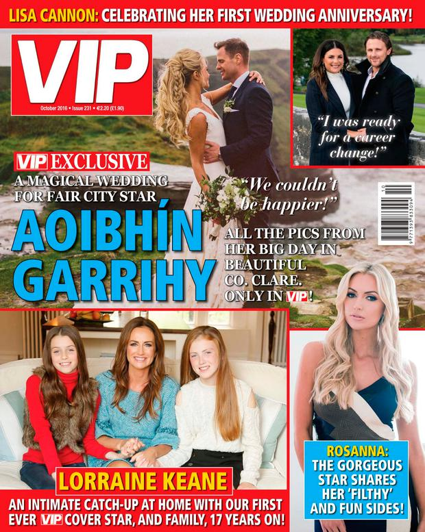 VIP's October issue is on shelves now