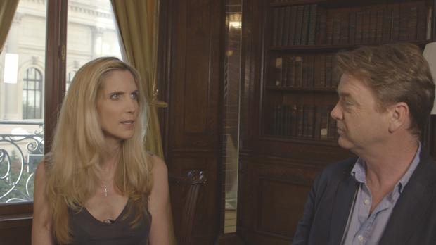 David McWilliams talks to one of Donald Trumps most vocal supporters; political commentator and author Ann Coulter.
