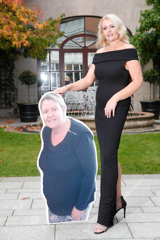 Mum of four Sharon Murphy (31) from Bunclody in Co. Wexford, lost 6 stone 6lbs after having her fourth child, was announced as the Unislim Woman of the Year 2016, Picture Conor McCabe Photography.