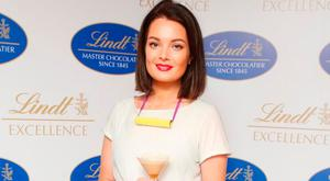 Martha Lynn at the Lindt Excellence Masterclass. Picture: Leon Farrell/Photocall Ireland
