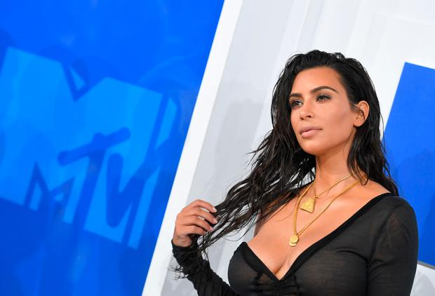 Kim Kardashian West attends the 2016 MTV Video Music Awards on August 28, 2016 at Madison Square Garden