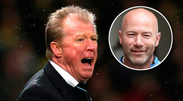 Alan Shearer has had a dig at Derby County over their appointment of Steve McClaren as manager