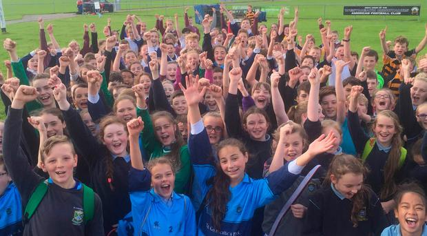 St Finian's girl made a big impact in the friendly games