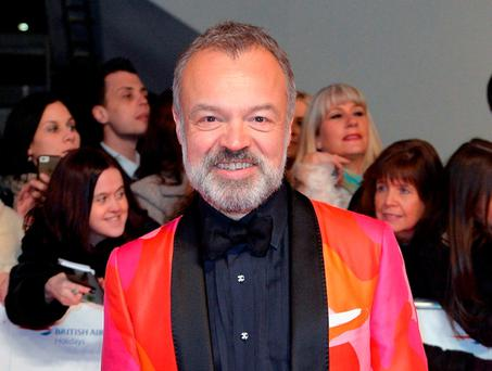 Graham Norton. Photo by Anthony Harvey/Getty Images