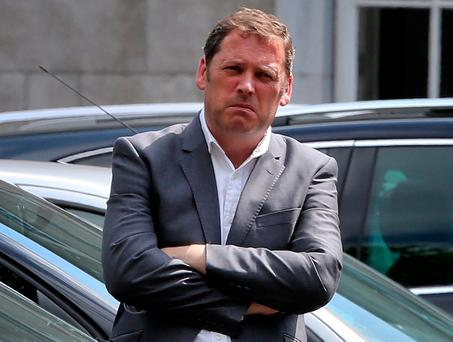 Fianna Fáil's housing spokesman Barry Cowen said the Government's Help-to-Buy scheme would benefit developers. Photo: Tom Burke