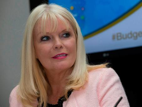 Exaggeration: Jobs Minister Mary Mitchell O'Connor. Picture by Fergal Phillips