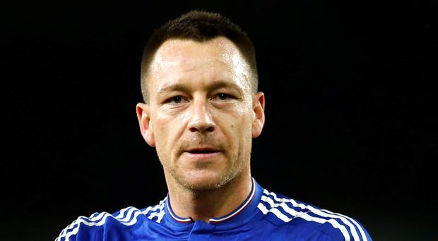 Chelsea's John Terry is targeting a first start in the team since the ankle injury he sustained in the 2-2 draw with Swansea on September 11. Picture: Reuters