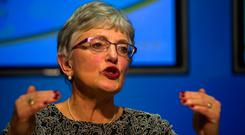 Not for turning: Children's Minister Katherine Zappone. Photo: Douglas O'Connor
