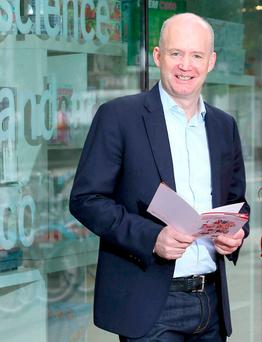 Tony Hanway, CEO of Virgin Media. Photo: Marc O'Sullivan