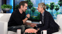 Colin Farrell discussed Donald Trump's leaked misogynist comments on The Ellen DeGeneres Show on Thursday