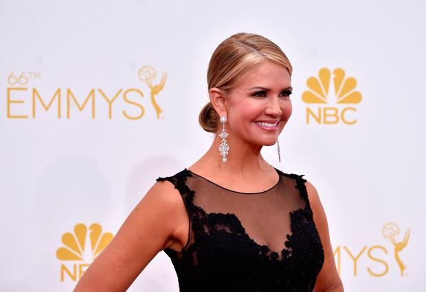 TV personality Nancy O'Dell attends the 66th Annual Primetime Emmy Awards held at Nokia Theatre L.A. Live on August 25, 2014 in Los Angeles, California. (Photo by Frazer Harrison/Getty Images)