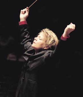 Prom queen: Marin Alsop is the first woman to lead major orchestras in the US and UK