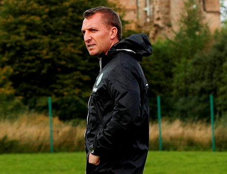 Celtic boss Brendan Rodgers. Photo: Action Images via Reuters/Lee Smith