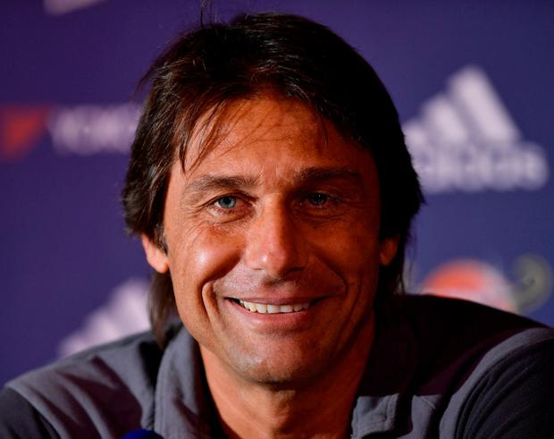 Conte: Hit jackpot with Kante. Photo: Tony O'Brien/Action Images via Reuters