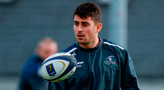 """O'Halloran """"If we start to get into big collisions. . . and a big one against Toulouse is the breakdown"""" Photo by Seb Daly/Sportsfile"""