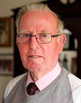 Noel Nutley had been praying for reductions in the property tax Photo: Gerry Mooney