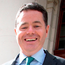 Paschal Donohoe is all smiles on Budget Day Photo: Tom Burke