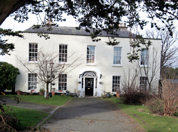 Twink's home in Knocklyon, Dublin Photo: Ray Cullen