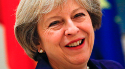 British Prime Minister Theresa May Photo: REUTERS/Juan Medina