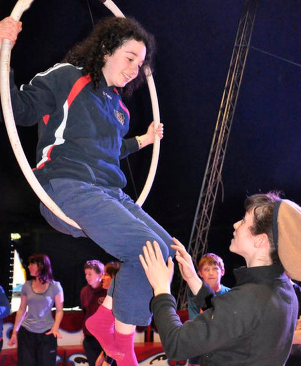 Jane O'Faherty is put through her paces at Buí Bolg