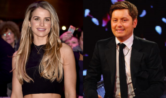 Vogue Williams and Brian Dowling battle to host RTE's Dancing With the Stars. Picture: Getty Images.