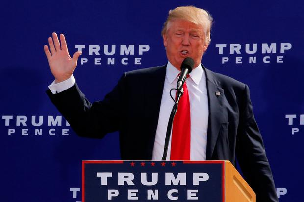 Republican presidential nominee Donald Trump has been accused of a number of sexual assaults Photo: REUTERS/Jonathan Ernst