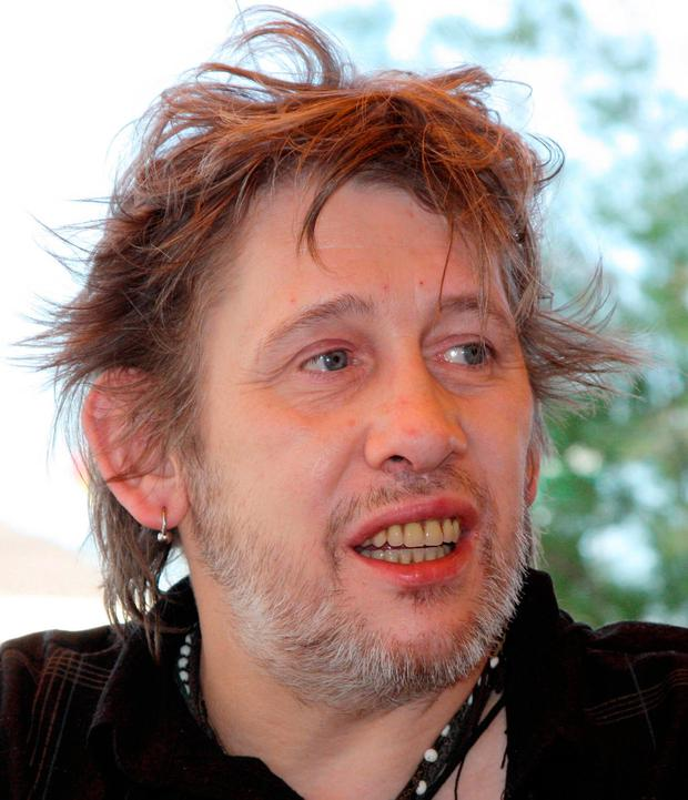 Shane MacGowan after the dental work was completed Photo: Lee Carter/Photoshot/Getty Images