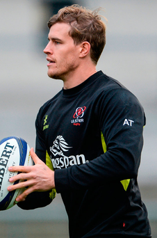 Ulster's Andrew Trimble makes a welcome return