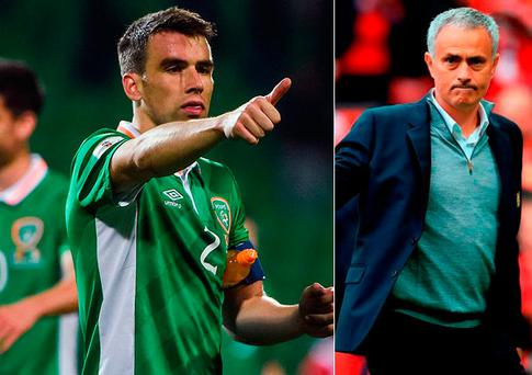 Seamus Coleman is wanted by Manchester United boss Jose Mourinho
