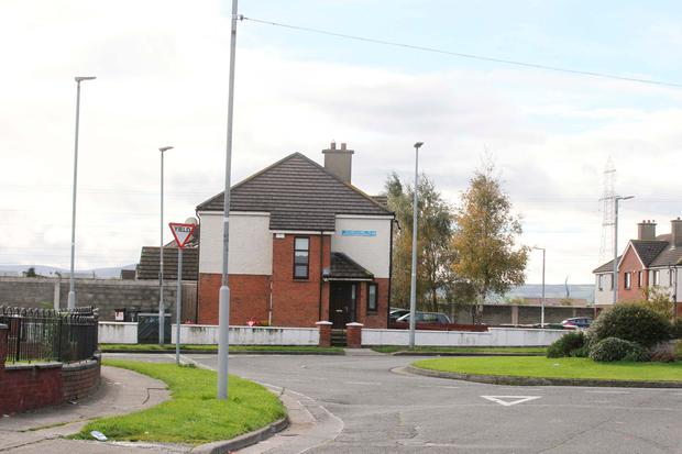 David King (31) was hospitalised after being shot at an address in Cherry Orchard Court, Ballyfermot, on Saturday night. Photo: Collins