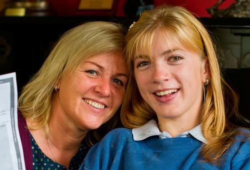 Ann Norton with her daughter Nicole. Photograph by John Kelly.