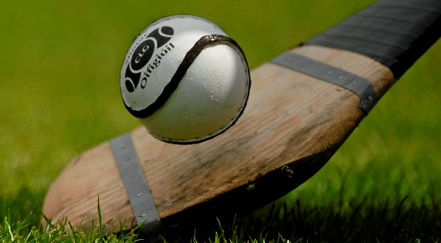 Carnew looked like they would lose their second consecutive county final, but 43-year-old Don Hyland scored with the last puck of the game to save the day. Photo: Sportsfile