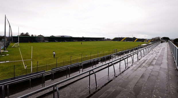 Michael O'Callaghan's 38th minute goal propelled Calry-St Joseph's to a sixth successive Sligo Senior Hurling Championship at a wet Markievicz Park. Photo: Sportsfile