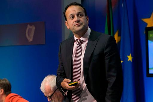 Leo Varadkar: complained that he is constantly under attack from Fianna Fáil leader Micheál Martin. Photo: Gareth Chaney Collins