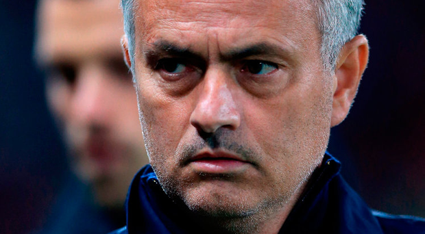Manchester United manager Jose Mourinho. Photo credit: Dave Howarth/PA Wire.
