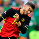 Yannick Carrasco. Photo by Stephen McCarthy / Sportsfile.