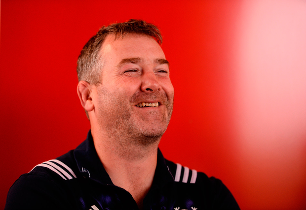 With Ireland too Anthony Foley had lots to offer. Photo by Diarmuid Greene/Sportsfile