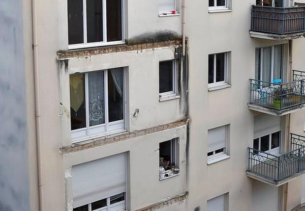 The Angers balcony building