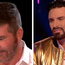 Simon Cowell apologised after making a crude gay sex joke on TV.