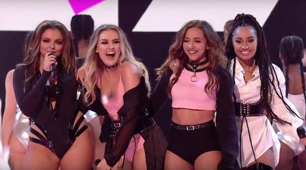 Little Mix performed their new single Shout Out To My Ex for the first time on Sunday night's X Factor but fans have claimed the singlevery similar to GRL hit Ugly Heart