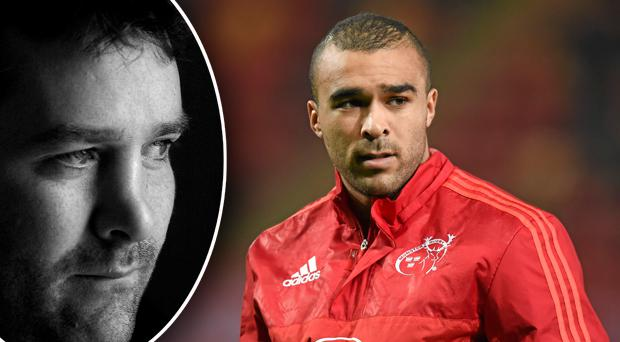 Simon Zebo has paid homage to Anthony Foley