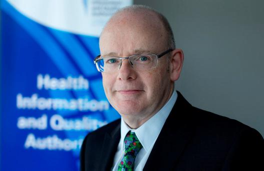 Report: Hiqa chief executive Phelim Quinn. Photo: David Conachy