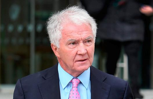 Sean FitzPatrick's court case is due to end by Christmas. Photo: Steve Humphreys