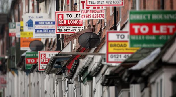 There has been an explosion in the number of people renting as the housing crisis worsens.