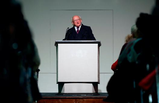 President Higgins: As a nation we are failing to 'display the necessary spirit of democracy'. Maxwells
