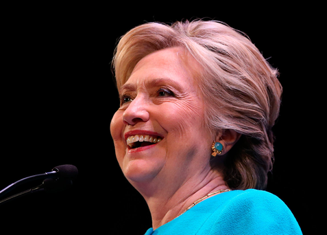 Democrat Hillary Clinton Photo: REUTERS/Lucy Nicholson