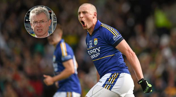 Kieran Donaghy was not impressed with Joe Brolly in 2014