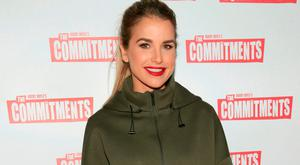 Vogue Williams at the opening night of the musical